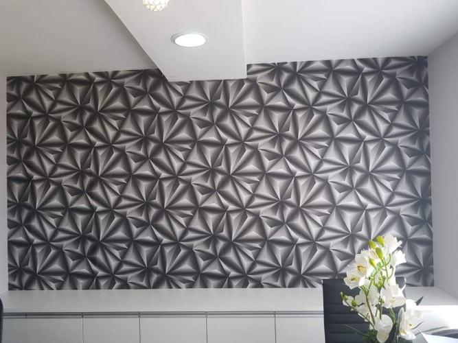 Jaru: Harmonize decoração em paredes . Com novidades em papel parede 3 D .