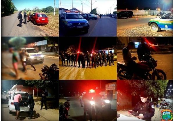 """Jaru: 8º Batalhão Policia Militar participa da Operação """"SEGURANÇA MÁXIMA"""""""