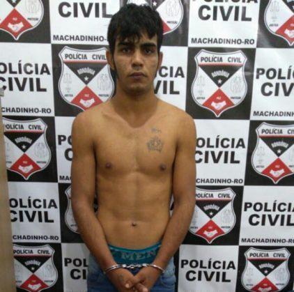 Em Machadinho, polícia civil cumpre mandado de prisão em desfavor de acusado de vários crimes