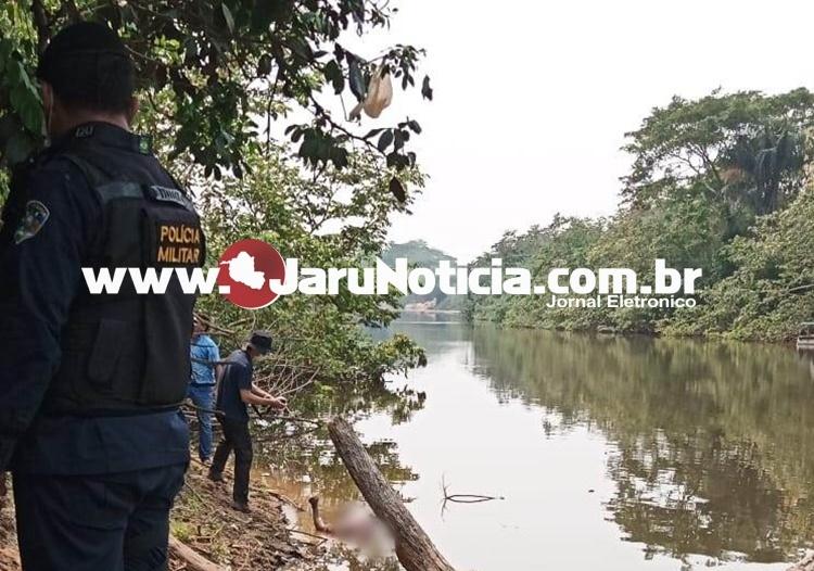 Corpo de homem em estado de putrefação é encontrado nas margens do rio Jaru