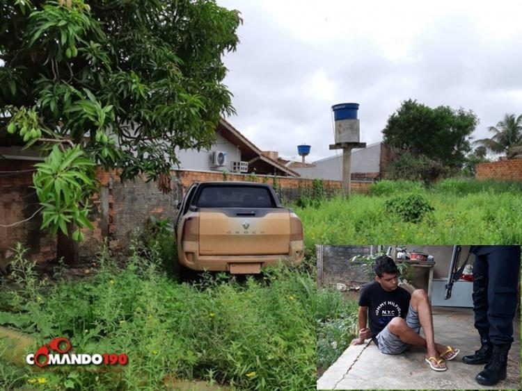 Em Ouro Preto, PM e PC prendem assaltante que aterrorizou família para roubar veículo