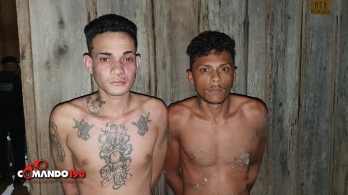 PM desmantela quadrilha que pretendia roubar sítios, dois moradores de Jaru foram presos na ação