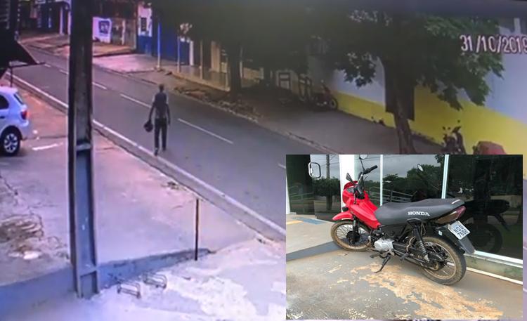 Ouro Preto: PM recupera moto furtada em Ji-Paraná e prende quatro suspeitos-VÍDEO