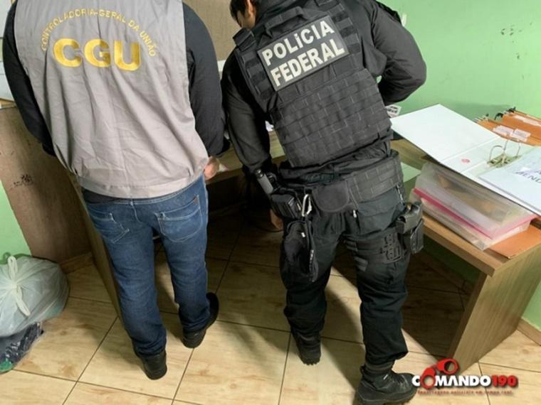 Operação da PF combate corrupção na Prefeitura de Ji-Paraná