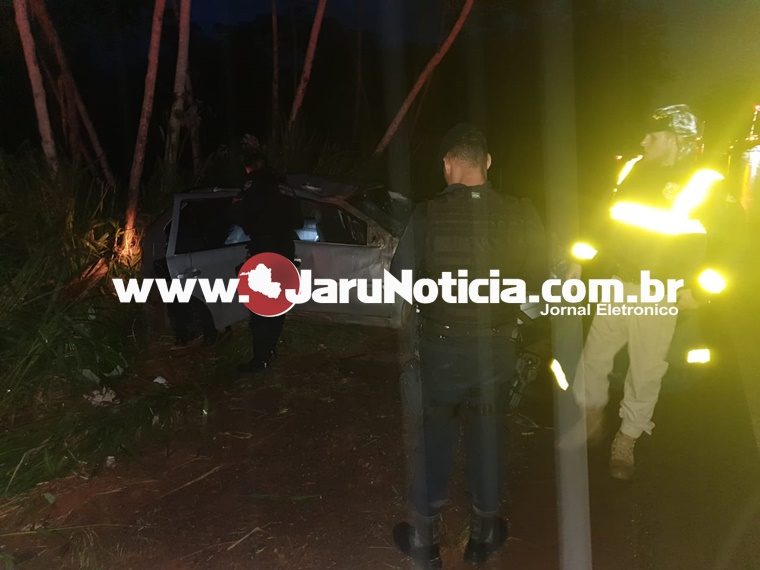 Mais um acidente na BR-364 próximo a PRF em Jaru