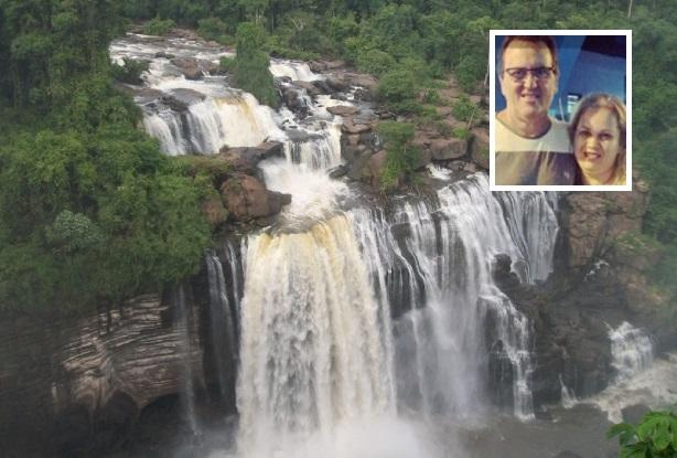 Acusados de matar casal para roubar caminhonetes e jogar corpos em cachoeira no MT são presos em Rondônia