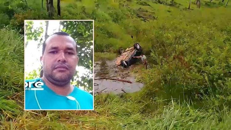 Tragédia: Capotamento mata motorista e deixa pai e madrasta feridos no interior RO
