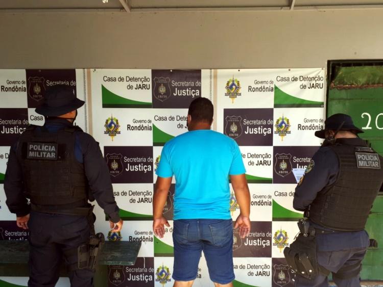 JARU – Polícia Militar recaptura três foragidos da justiça nesta quarta(01)