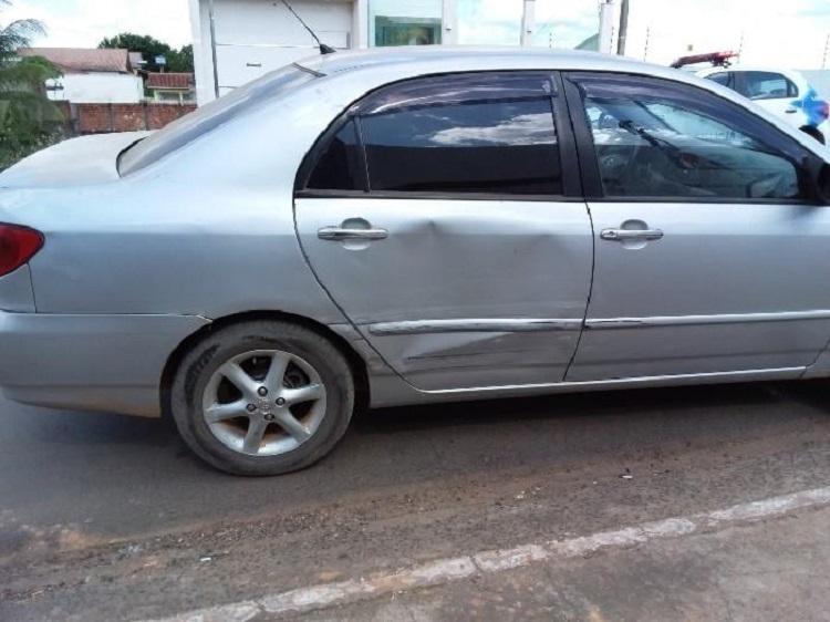 JARU – Polícia Militar é acionada após acidente de trânsito entre dois veículos
