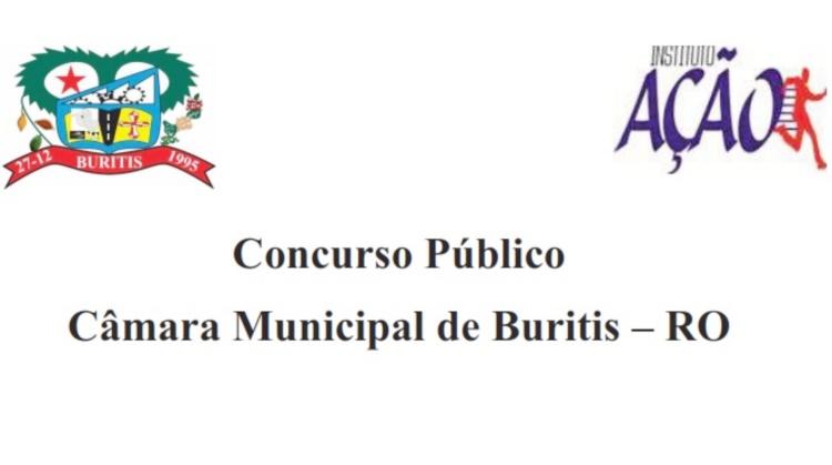 Câmara de Buritis abre concurso com salários de até R$ 4 mil: veja o edital