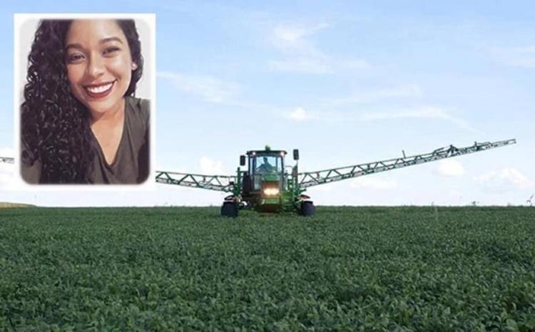 Engenheira agrônoma de 24 anos morre esmagada por pulverizadora em fazenda do grupo Amaggi na região