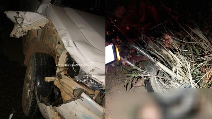 Morador de Jaru morre em grave acidente na RO 133 envolvendo vereador de Vale do Anari