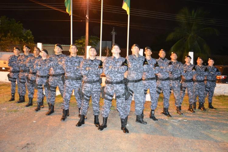 Governo de Rondônia realiza formatura para promoção de novos cabos da PM em Jaru